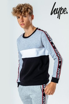 Hype. Kids Multi JH Tape Crew Neck Sweater