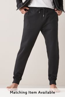 Black Cuffed Joggers Loungewear