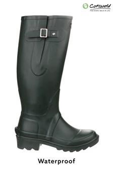 Cotswold Green Ragley Waterproof Wellington Boots