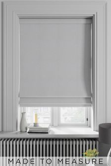 Soho Silver Made To Measure Roman Blind