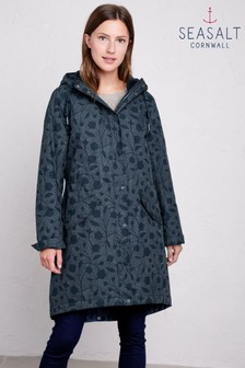 Seasalt Blue Plant Hunter 2 Coat