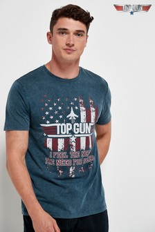 Navy Top Gun TV And Film Licence T-Shirt