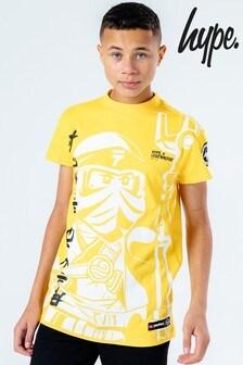 Hype. Kids Black LEGO® Ninjago Kai Oversized T-Shirt