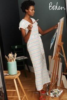 Boden Blue Ella T-Shirt Maxi Dress