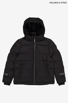 Polarn O Pyret Black Waterproof Light Padded Jacket