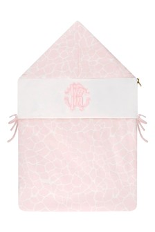 Baby Girls Pink Cotton Nest