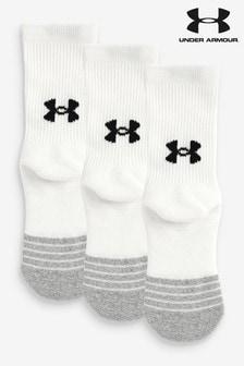 Under Armour Youth HeatGear® Socks 3 Pack