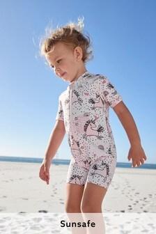 Pink Unicorn Sunsafe Suit (3mths-7yrs)