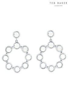 Ted Baker Silver Sarla: Starlight Drop Earrings