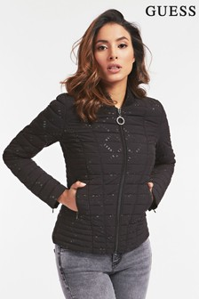 Guess Black Lightweight Padded Jacket