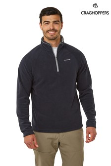 Craghoppers Blue Corey Half Zip Fleece