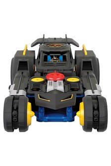 Imaginext DC Transforming Remote Control Batmobile Vehicle