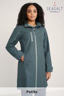 Seasalt Cornwall Petite Nickel Grey Coverack Coat
