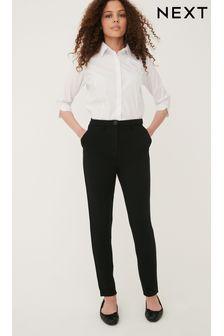 Black Senior High Waist Trousers (9-17yrs)