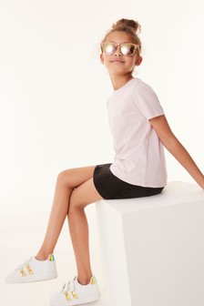 Lilac Relaxed Basic T-Shirt (3-16yrs)