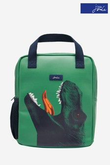 Joules Green Pathway Artwork Rubberised Backpack