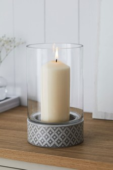 Geo Hurricane Candle Holder