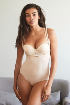 Nude Light Control Wear Your Own Bra Cotton Shaping Body