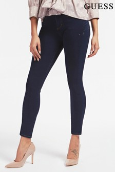 Guess Blue Wash Shape Up Skinny Jeans
