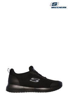 Skechers® Black Squad Slip Resistant Trainers
