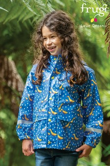 Frugi Ducks Recycled Polyester Waterproof Puddle Buster Coat