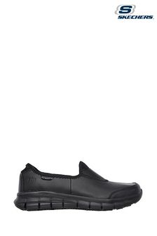 Skechers® Sure Track Slip Resistant Slip-On Work Shoes