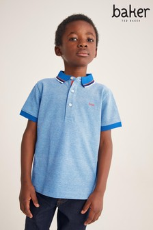 Baker by Ted Baker Blue Polo