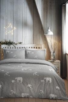 Playful Polar Bears Duvet Cover and Pillowcase Set by Fusion