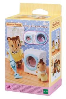 Sylvanian Families Laundry And Vacuum Cleaner