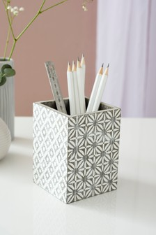 Geo Tile Pen Pot
