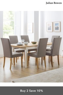 Set of 2 Seville Chairs by Julian Bowen