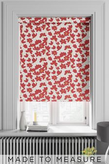 Rosanna Red Made To Measure Roller Blind