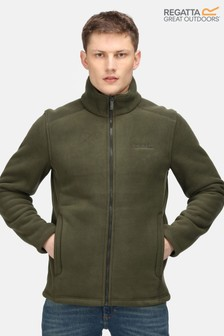 Regatta Green Garrian Full Zip Fleece Jacket