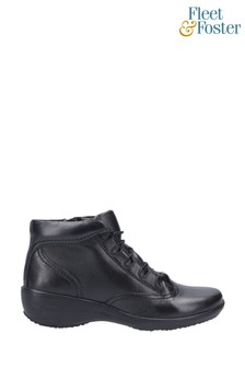 Fleet & Foster Merle Lace-Up Ankle Boots