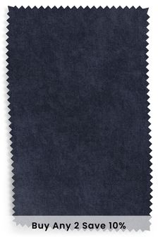 Navy Fine Chenille Fabric By The Roll
