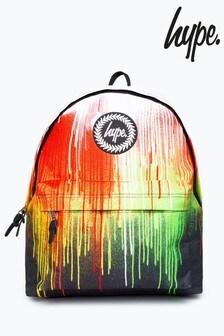 Hype. Multi Rainbow Drips Backpack