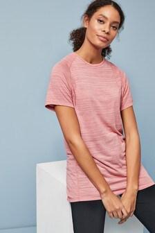 Pink Short Sleeve Sports T-Shirt