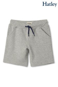 Hatley Athletic Grey Terry Shorts