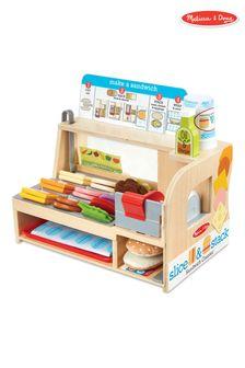 Melissa & Doug Slice & Stack Sandwich Counter