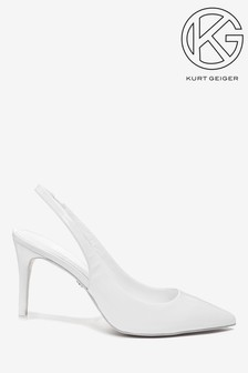KG Arly White Court Shoes