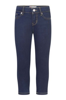 711™ Girls Indigo Cotton Skinny Fit Jeans