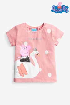 Pink Peppa Pig Sequin T-Shirt (9mths-7yrs)