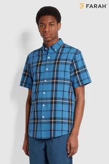 Farah Tekkers Waffle Short Sleeve Shirt