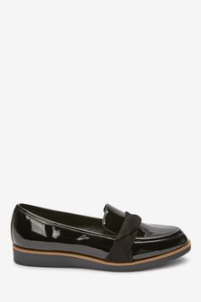 Black Forever Comfort® Twist Chunky Sole Loafers