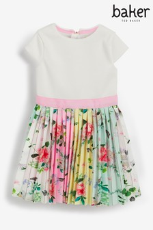 Baker by Ted Baker Pleated Skirt Dress