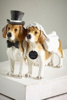 Wedding Dog Sculpture