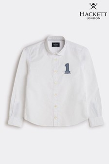 Hackett Number 1 Oxford Younger Boys Shirt