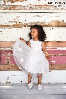 Monsoon Baby Ivory Lilly Dress