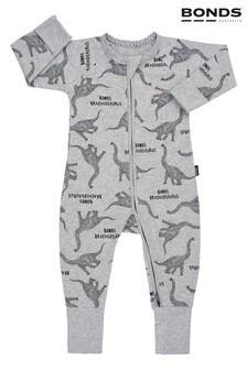 Bonds Grey Dinosaur Zip Wondersuit