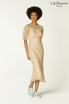 L.K.Bennett Blue Susie Dress